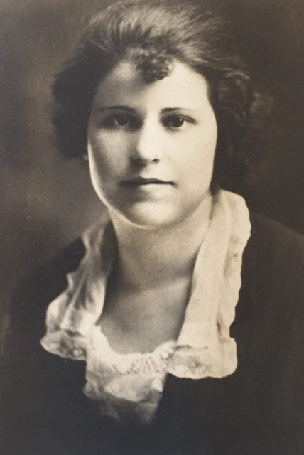 My grandmother as a young woman